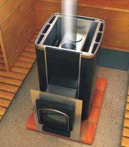 «Печь для бани с баком для воды: виды и особенности» фото - pech s bakom 6 263x300