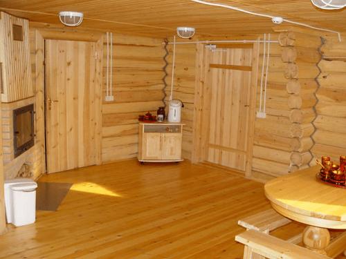 «Как сделать пол для бани? Виды, особенности, советы по монтажу» фото - pol dlya bani 1 1