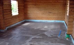 «Как сделать пол для бани? Виды, особенности, советы по монтажу» фото - pol dlya bani 4 300x182