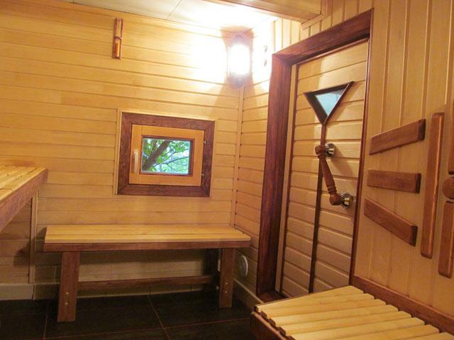 «Внутренняя отделка бани из бруса: идеи, советы и фото» фото - vnutr otdelka 1