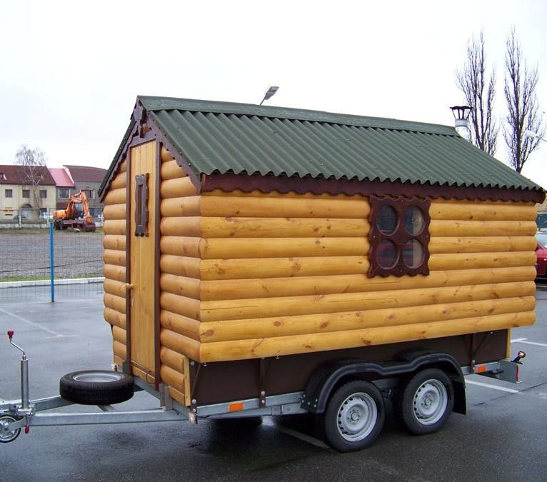 Особенности строительства передвижной бани