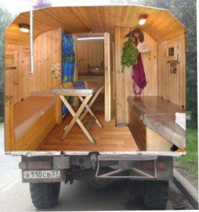 «Баня на колесах: особенности и постройка своими руками» фото - banja koleso 8 281x300