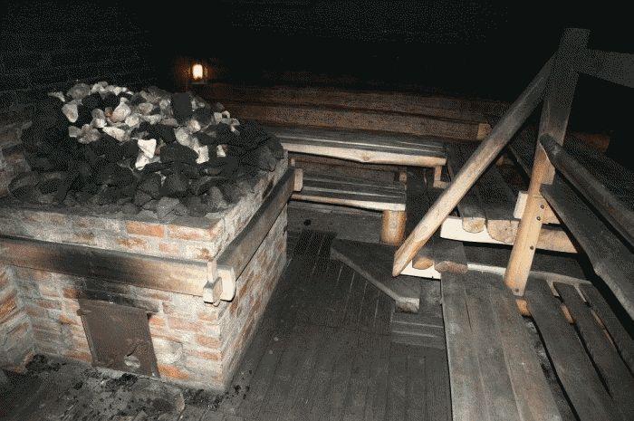 «Баня по-черному своими руками: особенности постройки» фото - banja po chernomu 1 1