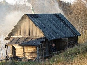 «Баня по-черному своими руками: особенности постройки» фото - banja po chernomu 2 300x224