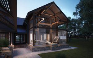 «Дом с баней под одной крышей: проекты и особенности» фото - dom banya 8 300x189