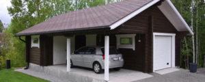 «Проект гаража с баней: особенности строительства и выбор материала» фото - proekt banya garaj 8 300x120