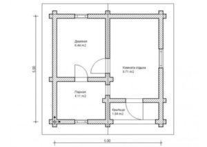 «Проекты каркасных бань: преимущества и выбор чертежа» фото - proekt karkasnyh ban 13 300x214