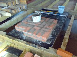 «Печи для бани из кирпича: проекты, фото и особенности сборки» фото - proekt kirp pech 6 300x225