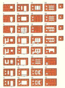 «Печи для бани из кирпича: проекты, фото и особенности сборки» фото - proekt kirp pech 7 221x300