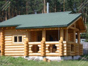 «Проекты бань из бревна: примеры и особенности» фото - proekty ban brevno 13 300x225