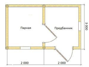 «Проекты бань из бревна: примеры и особенности» фото - proekty ban brevno 7 300x225