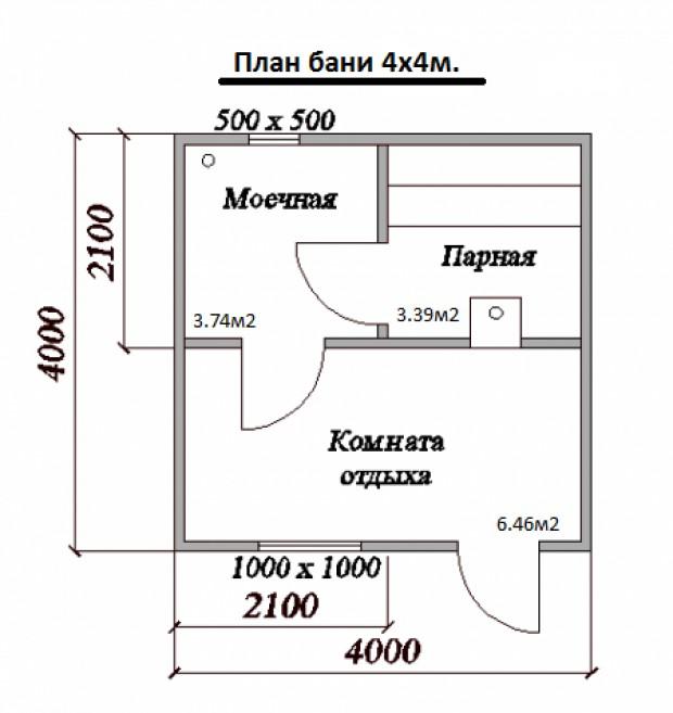 «Баня из клееного бруса: преимущества и особенности постройки; проекты бань из клееного бруса» фото - banya kleenyj brus 15