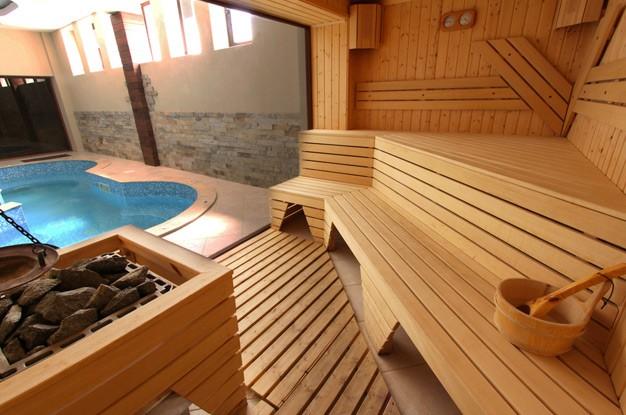 «Баня из клееного бруса: преимущества и особенности постройки; проекты бань из клееного бруса» фото - banya kleenyj brus 9