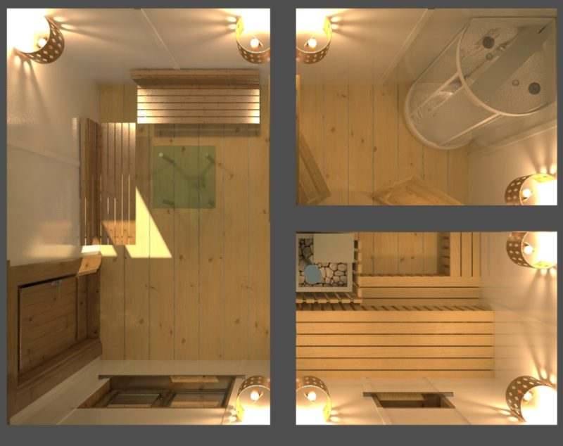 «Проект бани 6х4: особенности составления, примеры и фото» фото - proekt 6x4 24 800x634