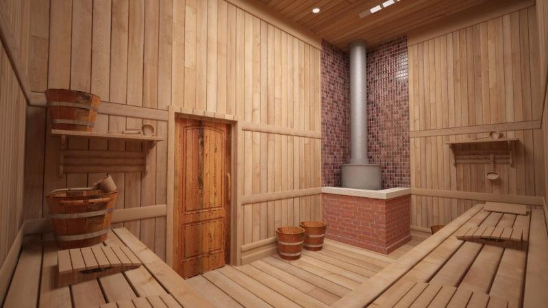 «Проект бани 6 на 8: особенности, виды. Особенности строительства бани 6х8 из бруса» фото - proekt 6x8 4 800x450