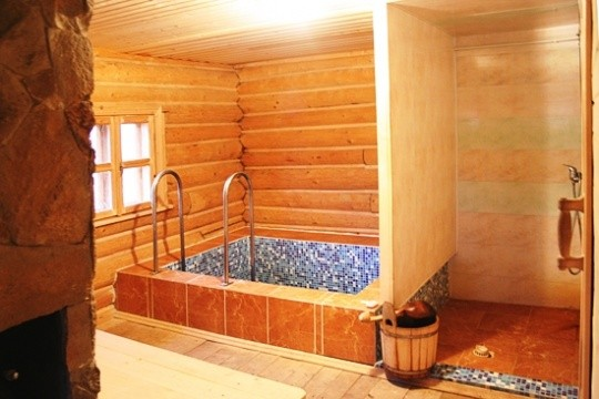 «Проект бани 8х8 м: преимущества, виды. Нюансы строительства бани 8 на 8 м» фото - proekt 8x8 11