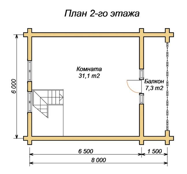 «Проект бани 8х8 м: преимущества, виды. Нюансы строительства бани 8 на 8 м» фото - proekt 8x8 8