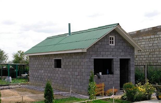 «Проекты бань из керамзитобетонных блоков: фото и особенности. Этапы строительства бани из блоков» фото - proekt keramzit 2
