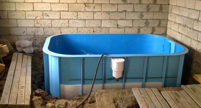 «Проекты бань из керамзитобетонных блоков: фото и особенности. Этапы строительства бани из блоков» фото - proekt keramzit 5