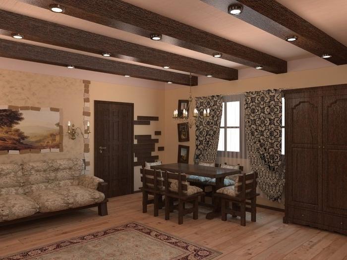 «Проекты бани с комнатой отдыха: особенности составления, виды» фото - proekt komnata otdyha 2