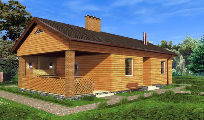 «Проекты бань с террасой: фото, примеры, особенности» фото - proekt terrasa 11 800x469