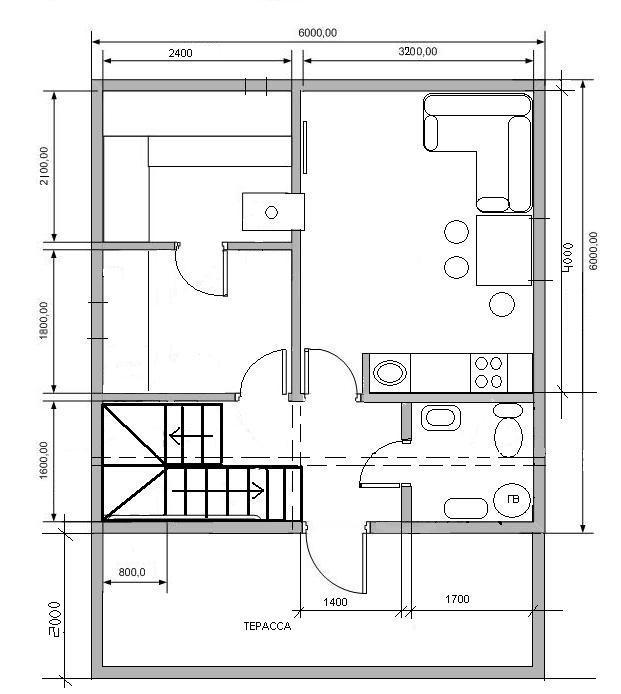 «Проекты гостевых бань: примеры и особенности реализации. Нюансы строительства гостевых домов с баней» фото - proekty gostevyh ban 14
