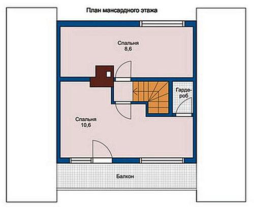 «Проекты бань 6 на 7: особенности составления, фото и схемы» фото - proekt bani 6 7 11