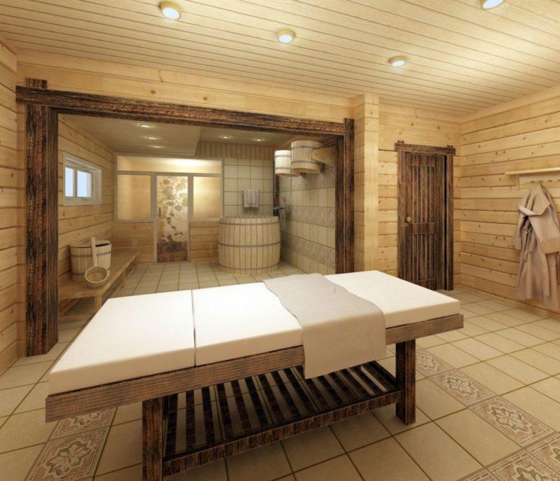 «Моечная в бане своими руками: фото, особенности обустройства» фото - moechnaja 1 800x687