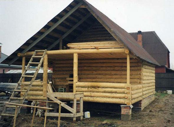 «Крыша бани своими руками: пошаговое руководство» фото - krysha bani 14
