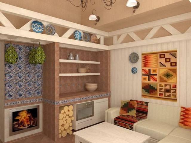 «Комната отдыха в бане: фото, идеи, особенности  интерьера» фото - komn otdyha 6