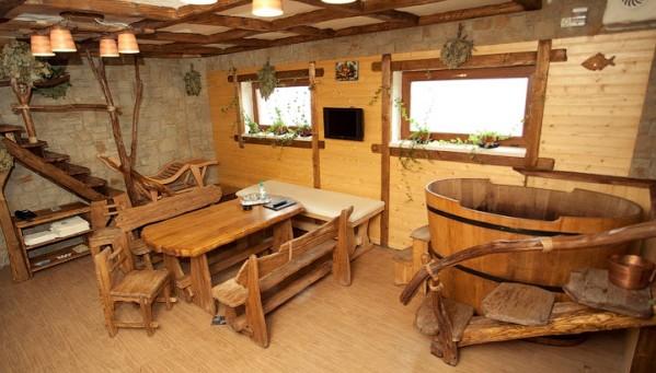 «Комната отдыха в бане: фото, идеи, особенности  интерьера» фото - komn otdyha 9
