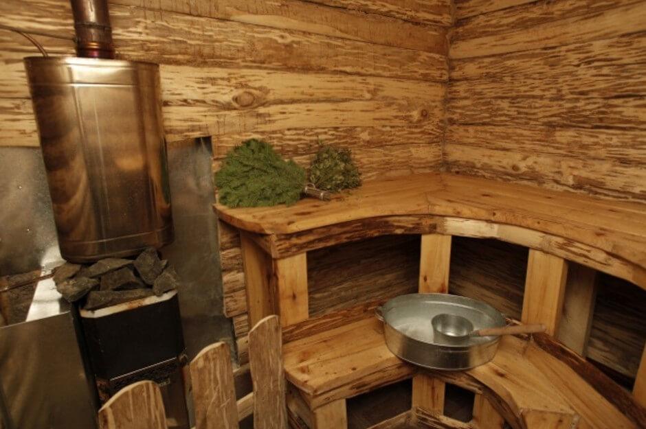 Бочка в баню для горячей воды