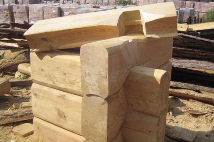 «Баня из лафета: преимущества и недостатки. Особенности строительства бани из лафета своими руками» фото - banja iz lafeta 6