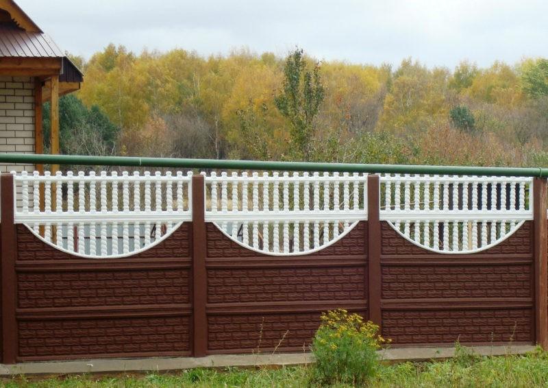 «Как сделать декоративный забор своими руками?» фото - 16 800x566
