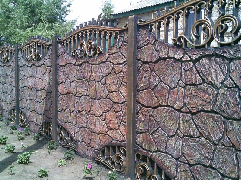 «Как сделать декоративный забор своими руками?» фото - 17 800x600