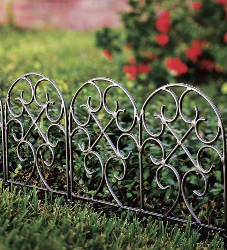 «Как сделать декоративный забор своими руками?» фото - 19 727x800