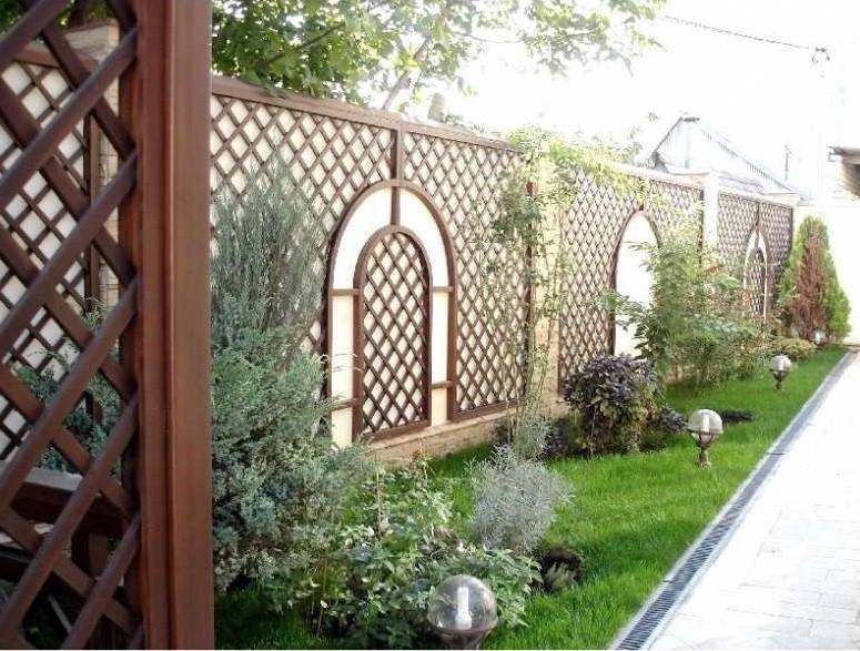 «Как сделать декоративный забор своими руками?» фото - 20