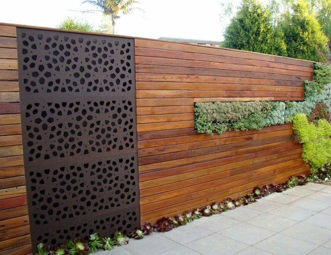 «Как сделать декоративный забор своими руками?» фото - 5 1