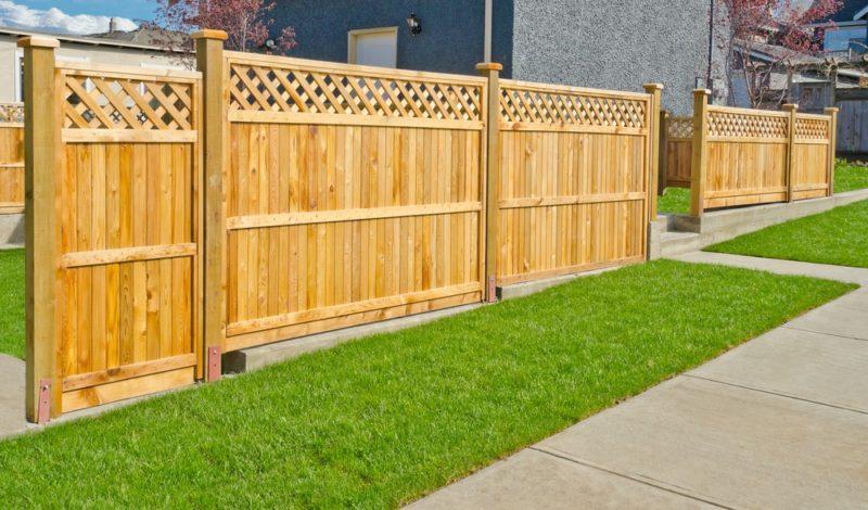 «Как сделать декоративный забор своими руками?» фото - 8 800x470