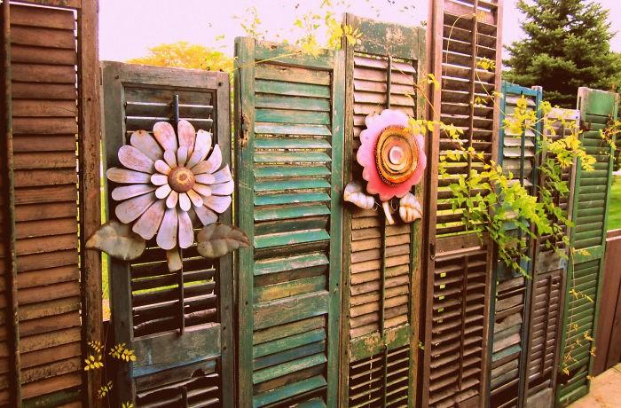 «Как сделать декоративный забор своими руками?» фото - 9