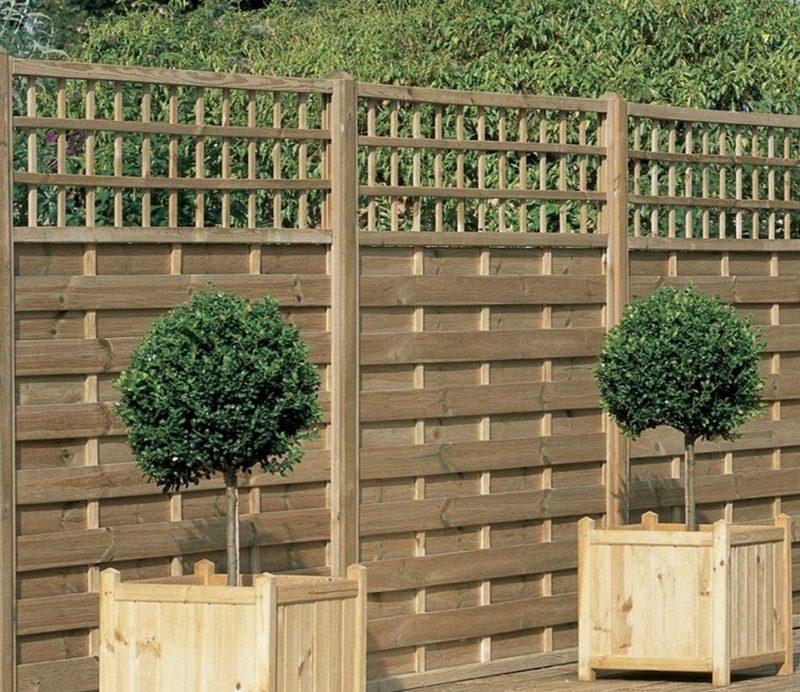 «Как сделать декоративный забор своими руками?» фото - Awesome Decorative garden fence panels gates 800x692