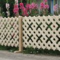 «Декоративный мох: разновидности, где применяется» фото - Derevyannyj dekorativnyj zabor 120x120