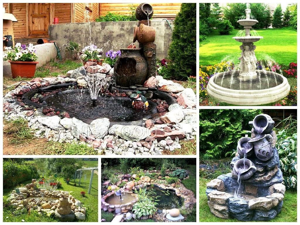 «Делаем фонтан на даче своими руками: инструкция и советы» фото - kak sdelat fontan na dache2