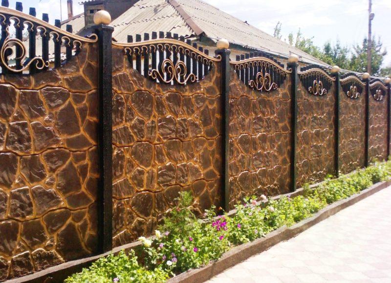 «Как сделать декоративный забор своими руками?» фото - za13 800x579