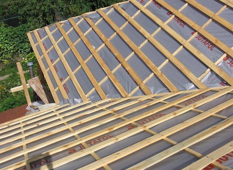 «Баня с односкатной крышей. Как сделать односкатную крышу для бани своими руками?» фото - banja odnoskatnaja krysha 13 800x586