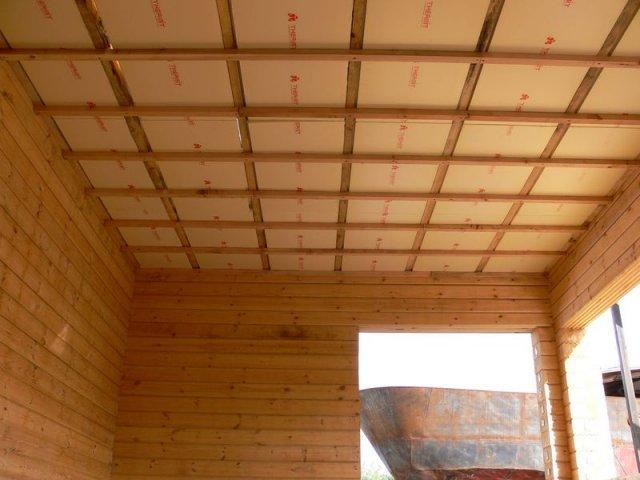 «Баня с односкатной крышей. Как сделать односкатную крышу для бани своими руками?» фото - banja odnoskatnaja krysha 15
