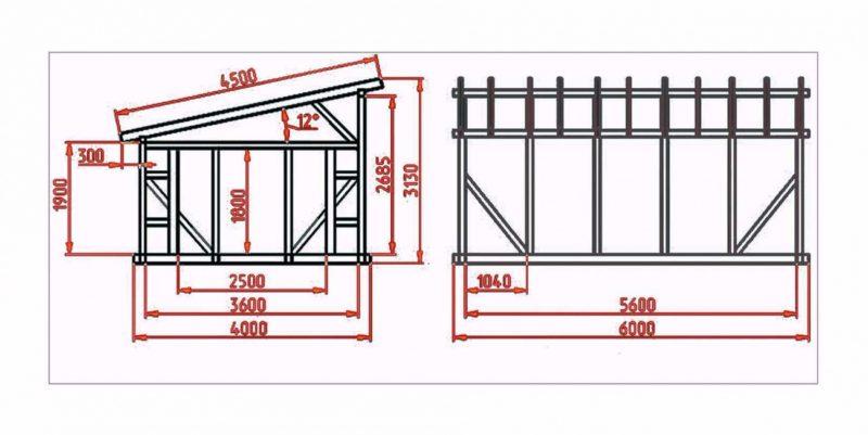 «Баня с односкатной крышей. Как сделать односкатную крышу для бани своими руками?» фото - banja odnoskatnaja krysha 5 800x401