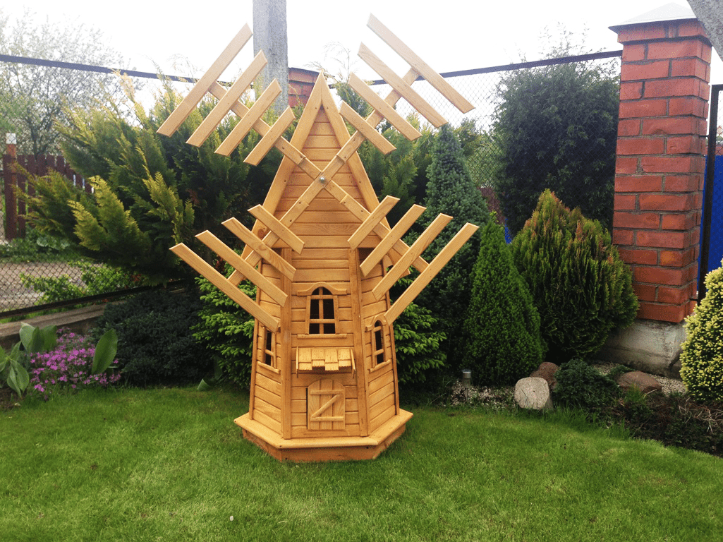 «Делаем декоративную мельницу в саду своими руками» фото - dekorativnaya melniza 002