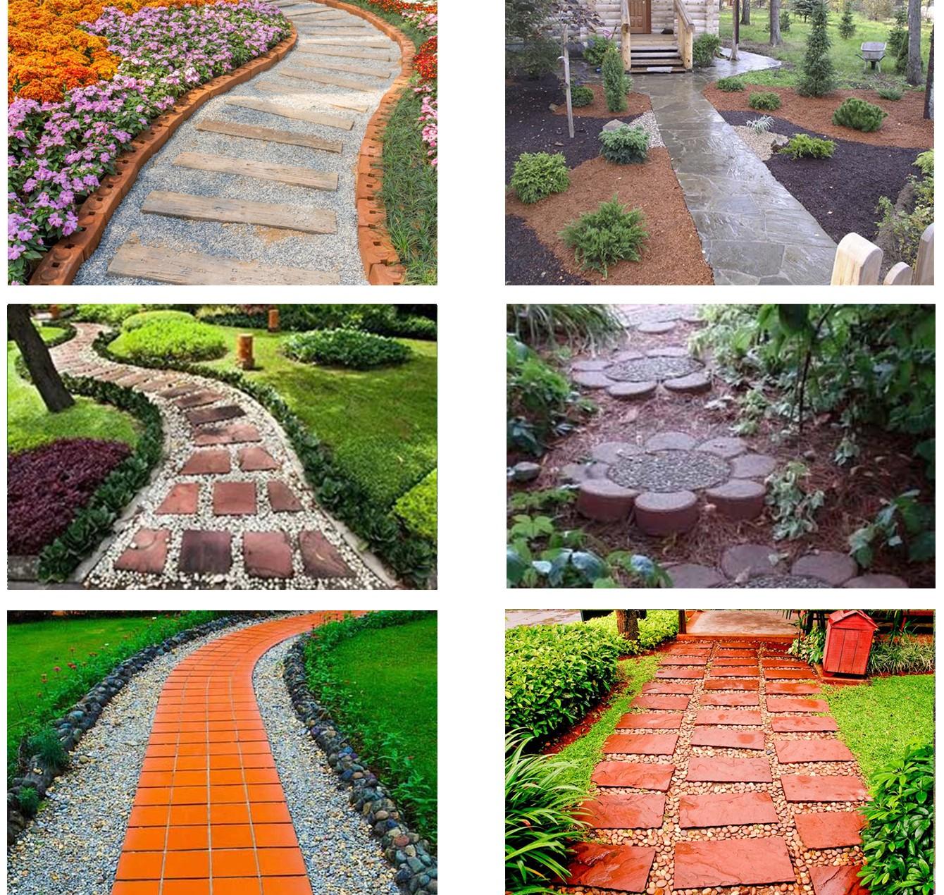 «Делаем садовые дорожки своими руками - инструкция и советы» фото - sadovye dorozhki5
