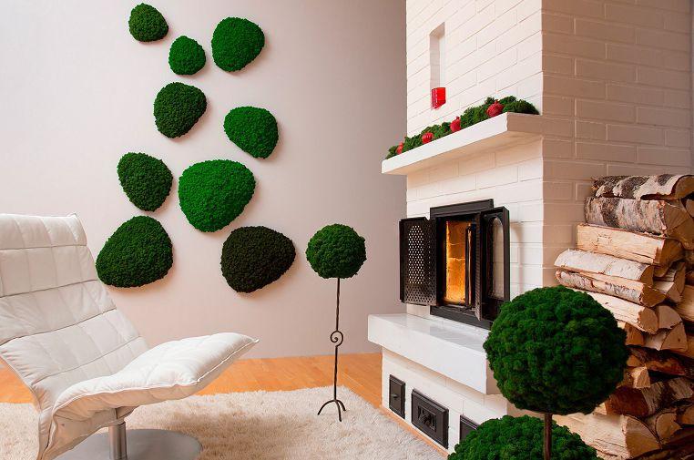 «Декоративный мох: разновидности, где применяется» фото - 10 2